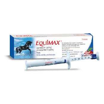 Equimax Paste (ivermectin 1.87%, praziquantel 14.03%) for horses, single dose, 6.42 gm