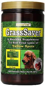 Naturvet Grass Saver Wafers 300 count