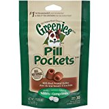 Greenies Pill Pockets Peanut Butter Dog 3.2 oz
