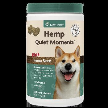 Naturvet Hemp Quiet Moments Soft Chews 180 count