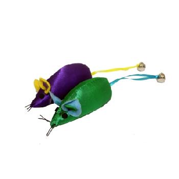Mouse With Bell Assorted Colors 3.75""