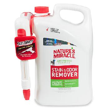 Nature's Miracle Stain and Odor Remover AccuShot 170 oz.