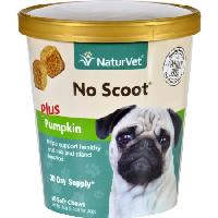 NaturVet No Scoot Soft Chews 60 ct