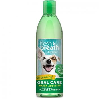 Tropicliean Fresh Breath Water Additive 16 oz