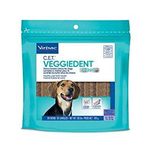 C.E.T. VeggieDent Fresh Chew Medium 30 ct